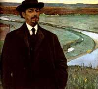 Михаил Васильевич Нестеров (автопортрет)