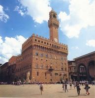 Площадь Синьории и Палаццо Веккьо (Флоренция)