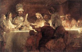 Заговор Юлия Цивилиса (Харменс ван Рейн Рембрандт)
