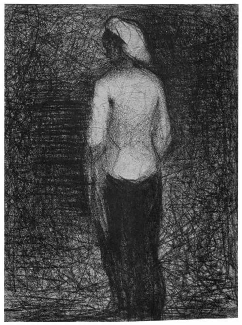 "1882 Сёра Ж.П.""Артистка."""
