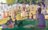 Воскресенье после полудня на острове Гранд-Жатт (Жорж Сёра, 1884-1886 г.)