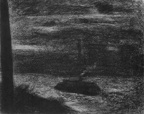 """1883 Сёра Ж.П.""""Пароход."""""""
