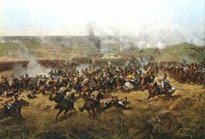 Панорама. Бородинская битва (Ф.А. Рубо)