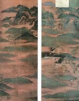 Пейзажные ширмы (13 век)