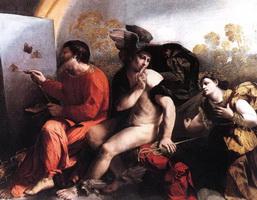 Юпитер, Меркурий и Добродетель (Джованни Досси)